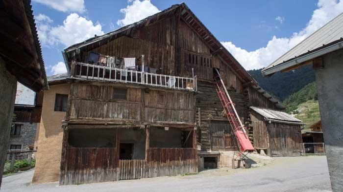 Maison traditionnelle de Ceillac