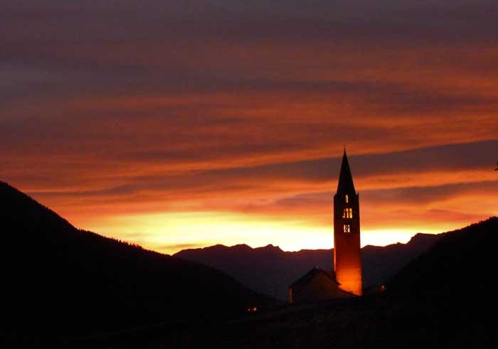 Eglise Sainte Cécile de Ceillac